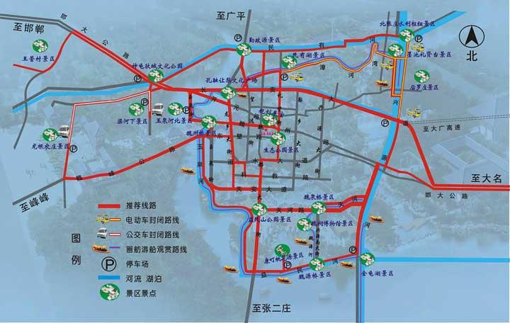 温馨提示—2012魏县梨文化旅游节观光线路